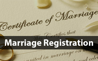 marriage registration banner