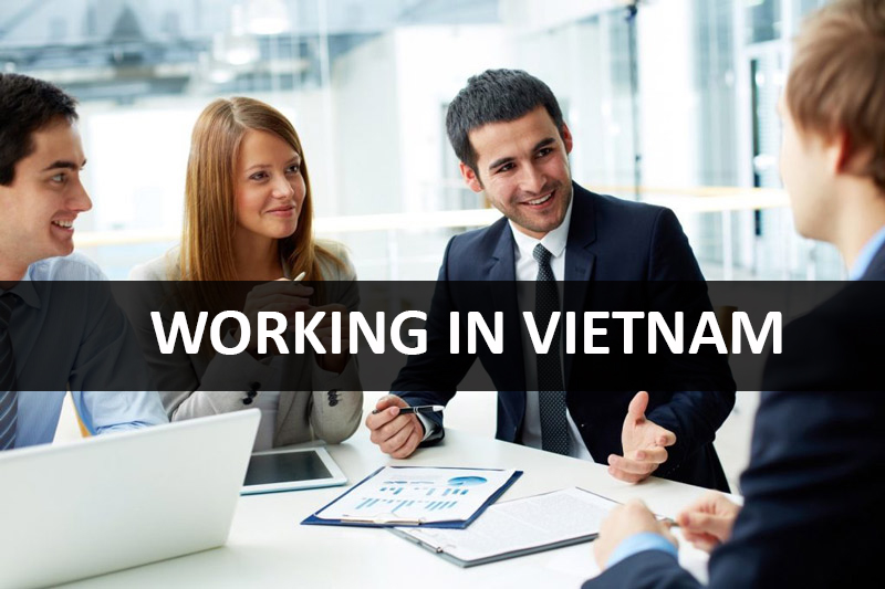 Working in Vietnam